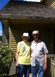 Alice and John Mortenson at Nya Duvemåla