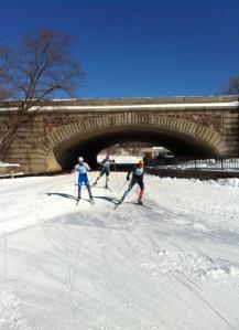 Under Lake Street Bridge