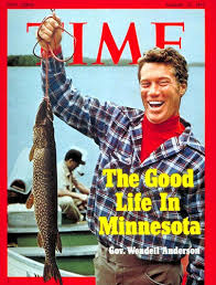 Wendell Anderson on TIME's cover